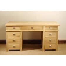 New Court Double Pedestal Writing Desk