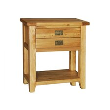 Calgary Small 2 Drawer / 1 Shelf Console Table