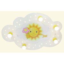 Wand-/ Deckenleuchte Sonne