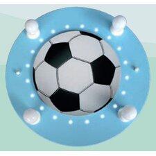 Wand-/ Deckenleuchte Fußball