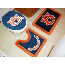 NCAA 3 Piece Bath Rugs