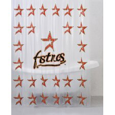 <strong>Championship Home Accessories</strong> MLB PVC Shower Curtain