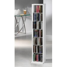 V cm Elementa CD / DVD Storage Rack