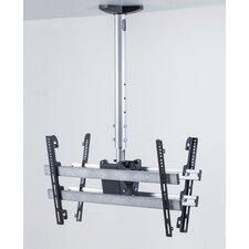 TDH 4 Double Universal Ceiling TV Bracket