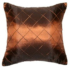 Silky Checks Decorative Pillow