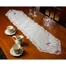 Seville Embroidered Vintage Lace Design Table Runner