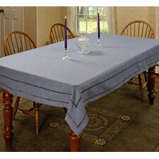 Hem Stitch Embroidered Vintage Design Tablecloth