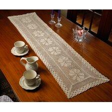 Stars Crochet Vintage Design Table Runner