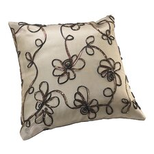 Venetian Vintage Embroidered Floral Design Decorative Cushion Cover