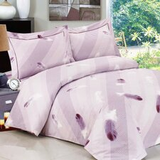 French Feathers Luxurious 6 Piece Duvet Set