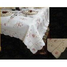 Renaissance Embroidered Design Tablecloth
