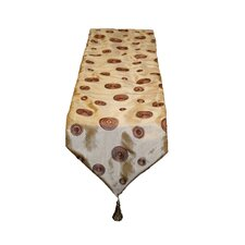 Silky Circle Table Runner