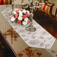 <strong>Violet Linen</strong> Legacy Damask Design Table Runner