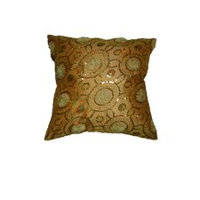 Blossom Embroidered Sequins Decorative Throw Pillow