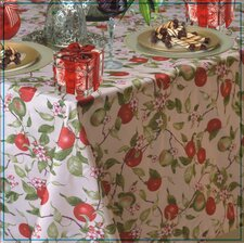 European Orchards Fruits Vintage Design Printed Tablecloth