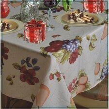 European Paradise Fruits Vintage Design Printed Tablecloth