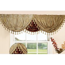 "Prestige Damask Design Water Fall 48"" Curtain Valance"