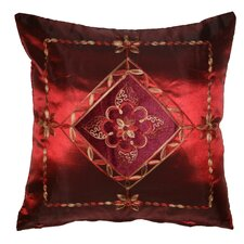 Silky Indiana Embroidered Velvet Diamond Decorative Cushion Cover