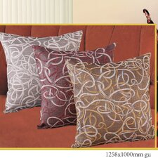 Classic Damask Design Jacquard Decorative Cushion Cover