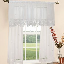 <strong>Violet Linen</strong> Roslyn Embroidered Window Treatment Collection