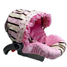 Infant Car Seat Cover with Canopy