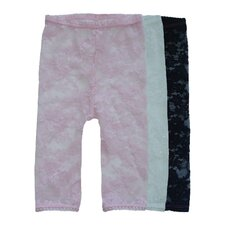 <strong>Baby Bella Maya</strong> Lacy Leggings Set (Set of 3)