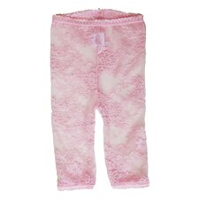 <strong>Baby Bella Maya</strong> Lacy Leggings in Pink