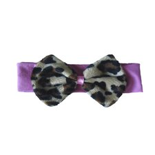 Headband in Lollipop Leopard