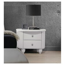 Bellagio 2 Drawer Nightstand