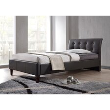 Hamilton Platform Bed in Black
