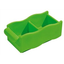 Double Single Wave Storage Bin