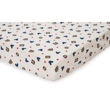 <strong>Disney Baby Bedding</strong> Vintage Mickey Fitted Sheet