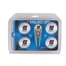 NBA Divot Tool and 4 Golf Ball Gift Set