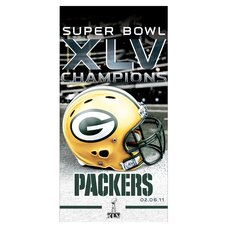 Green Bay Packers Beach Towel Graphic Art