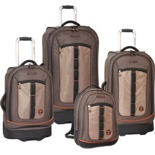 <strong>Timberland</strong> Jay Peak 4 Piece Luggage Set