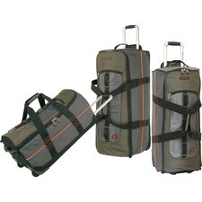 <strong>Timberland</strong> Jay Peak 3 Piece Luggage Set