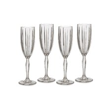 Omega Flute Glass (Set of 4)