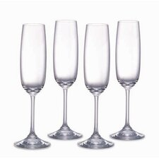 Vintage Champagne Flutes (Set of 4)