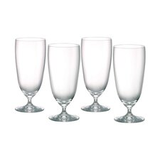 Vintage Crystal Iced Beverage Glass (Set of 4)