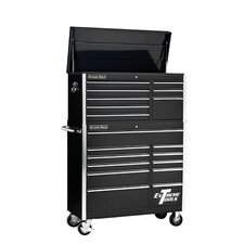 "41"" Combo Tool Chest and Roller Cabinet in Black"