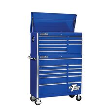 "41"" Combo Tool Chest and Roller Cabinet in Blue"