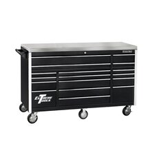 "Triple Bank 72"" Wide 17 Drawer Professional Bottom Cabinet"