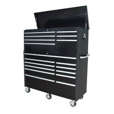 7 Drawer Top Chest and 11 Drawer Roller Cabinet Combo