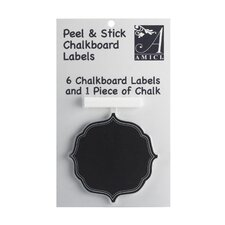 Trouville Chalk Board Label (Set of 6)