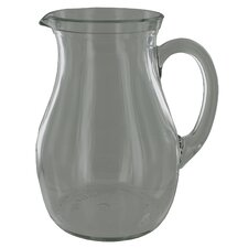Glass Roxy Beverage Pitcher