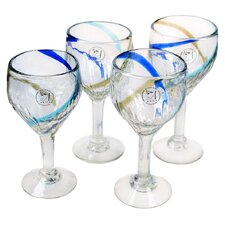 <strong>Global Amici</strong> Havana Goblet Glass (Set of 4)