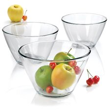 Contemporary 3 Piece Serving Bowl Set