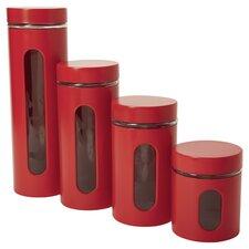 5 Piece Palladian Window Jar Set (Set of 4)