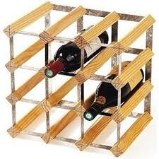 RTA 12 Bottle Tabletop Wine Rack
