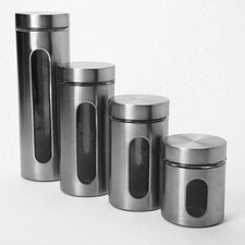 5 Piece Palladian Window Jar Set (Set of 4)